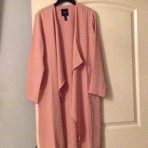 Long sleeve open blazer